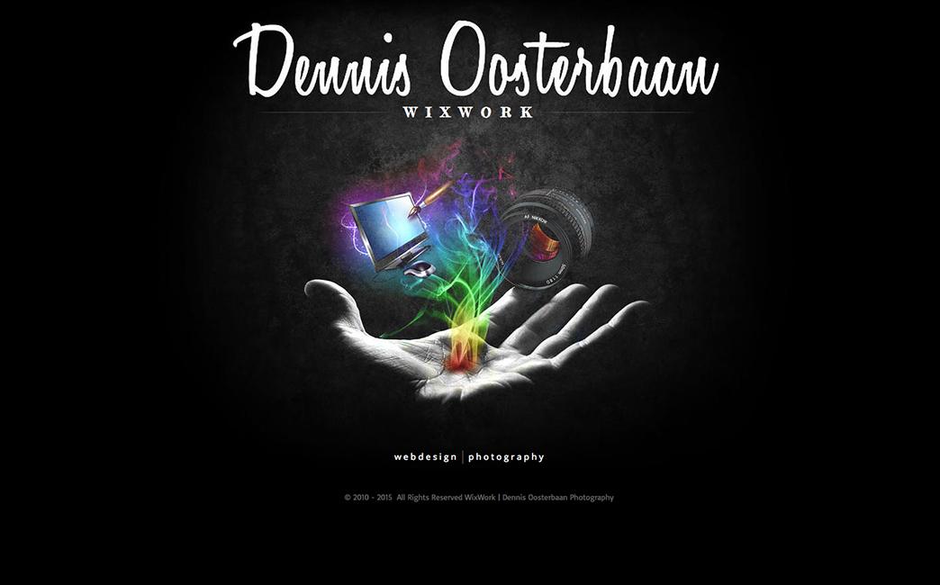Dennis Oosterbaan's website - Wix Stories