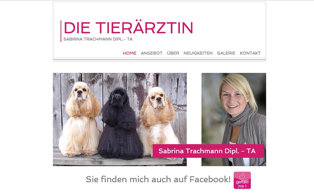 Sabrina Trachmann's website - Wix Stories