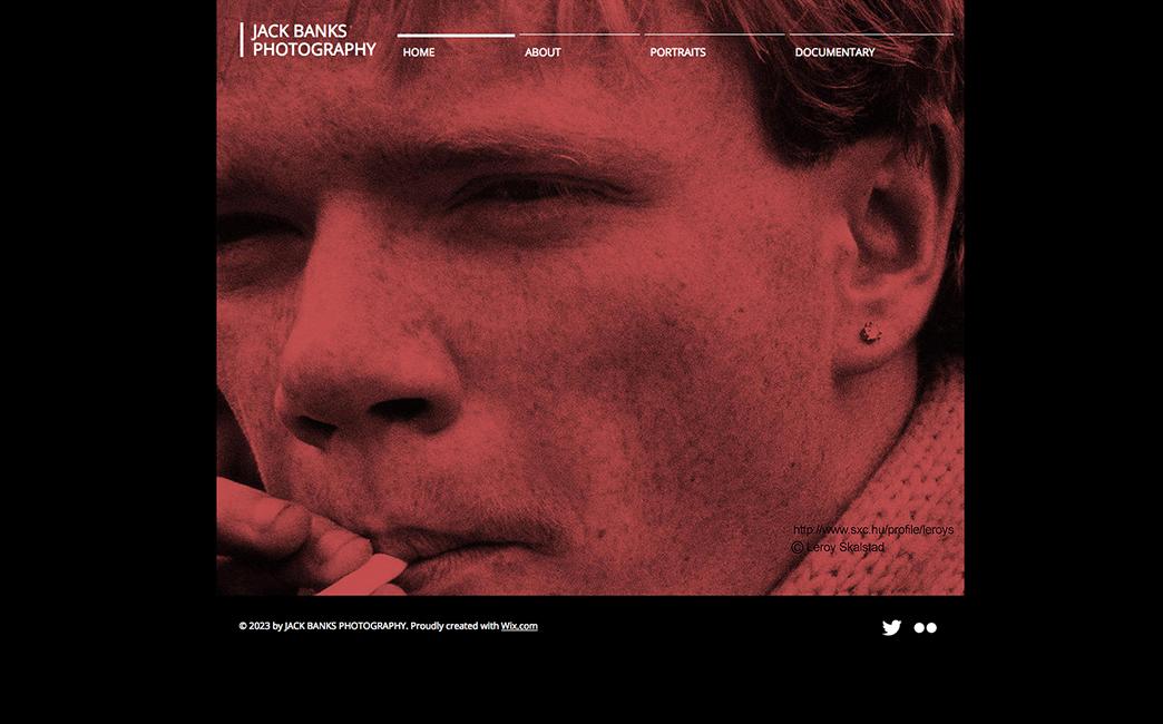 The Original Template used to create Matthieu Benhayoun's website - Wix Stories