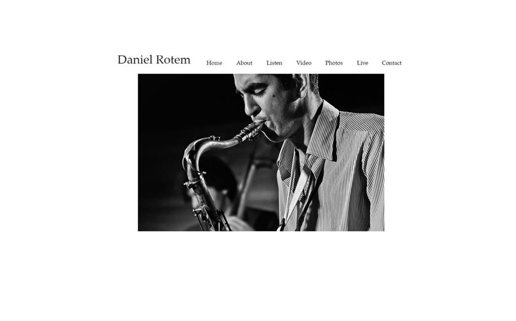 Daniel Rotem's website - Wix Stories