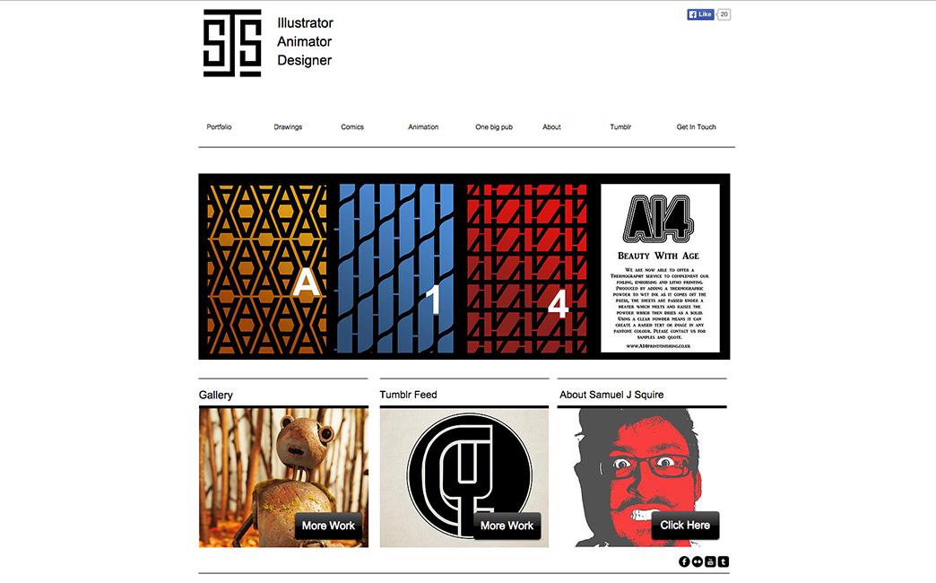 Samuel Johnson-Squire's website - Wix Stories