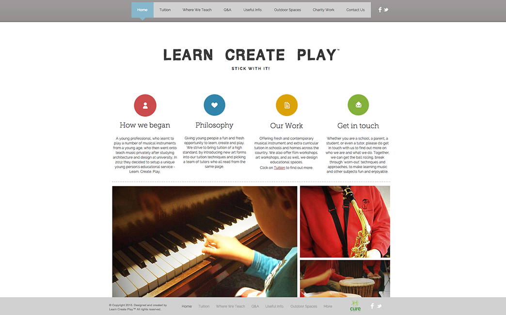 Tom C S James's website - Wix Stories