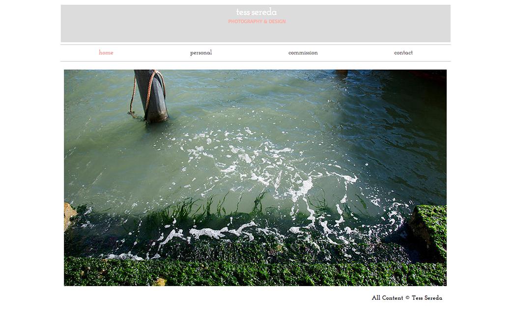 Tess Sereda's website - Wix Stories