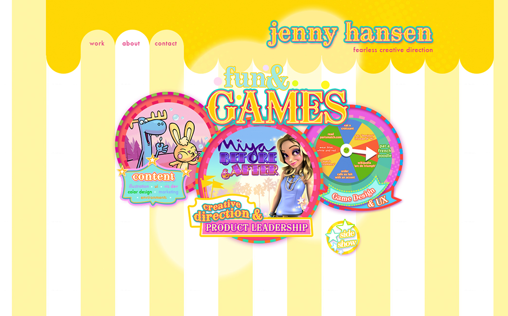 Jenny Hansen's website - Wix Stories