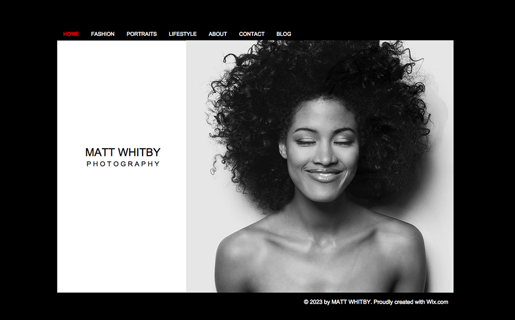 The Original Template used to create Aline Affonso & Raísa Venâncio's website - Wix Stories