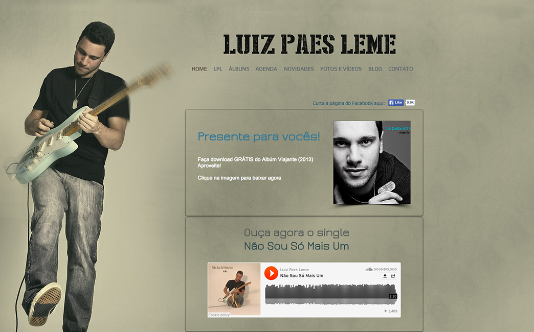 Luiz Paes Leme's website - Wix Stories