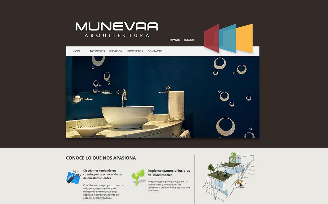 Munevar Architecture's website - Wix Stories