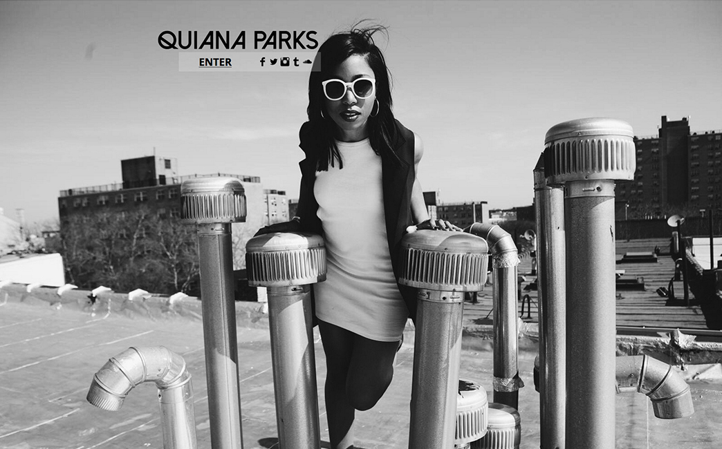 Quiana Parks's website - Wix Stories
