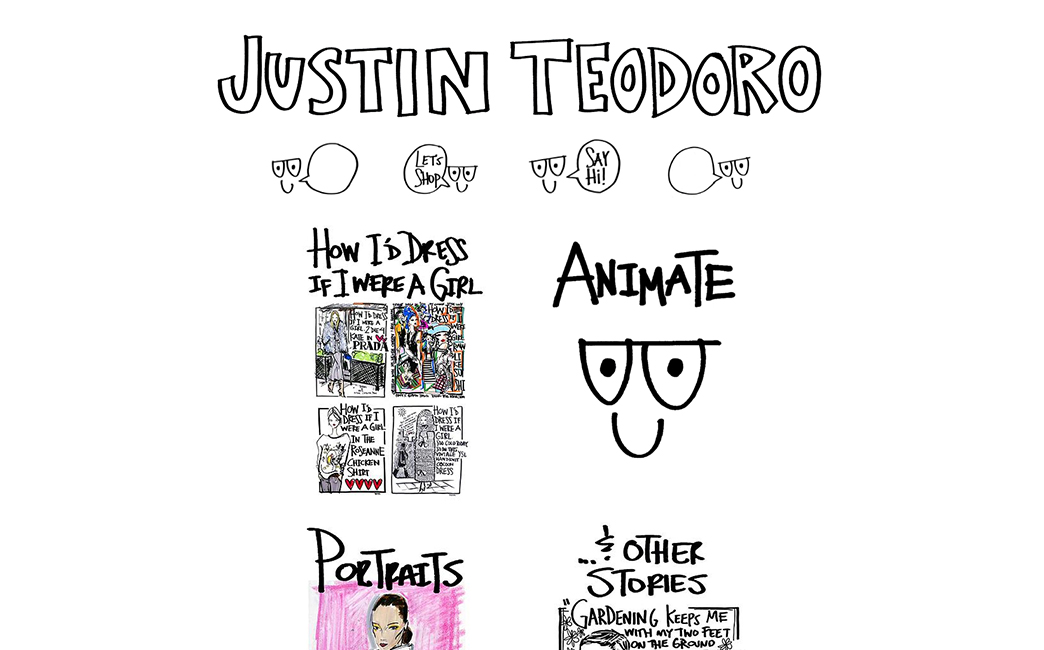 Justin Teodoro's website - Wix Stories