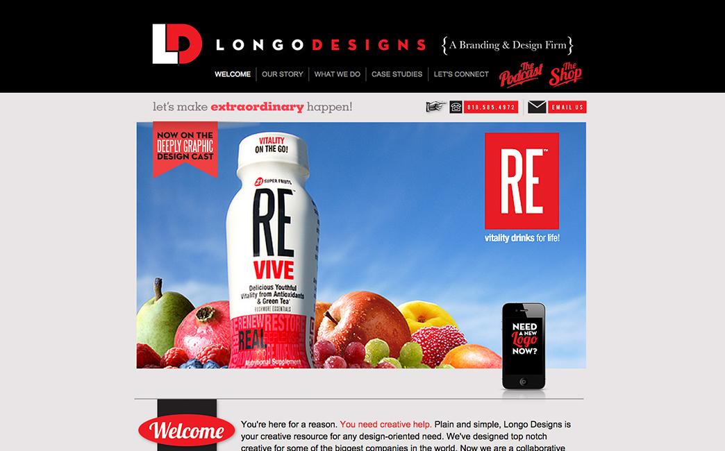 Nick Longo's website - Wix Stories