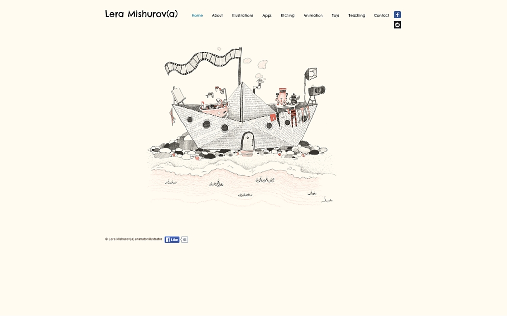 Lera Mishurova's website - Wix Stories